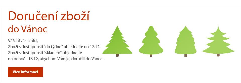 Garance doručení zboží do Vánoc