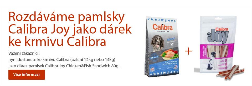 Dárky  s krmivem Calibra