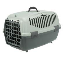 Be Eco Capri 1 transportní box, XS: 32 x 31 x 48cm, antracit/šedo-zelená
