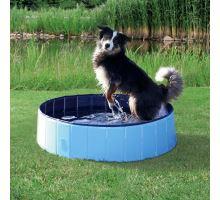 Bazén pro psy 80 x 20 cm světle modrá/modrá VÝPRODEJ