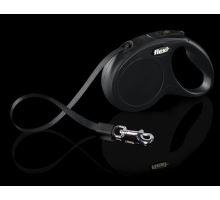 Vodítko FLEXI New Classic XS pásek 3m černá