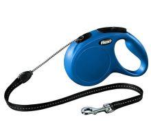 Vodítko FLEXI New Classic M lanko 5m Modrá