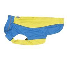 Obleček Raincoat KRUUSE Béžová / Fialová 46cm L