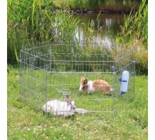 Ohrádka kovová pro králíky 6 stran