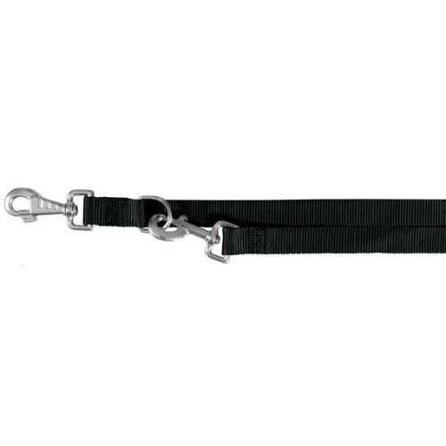 Vodítko CLASSIC prodlužovací 2,0 m / 25 mm (L-XL) - černá