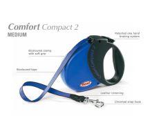 Vodítko FLEXI Comfort Compact 2 5m/25kg Pásek černá