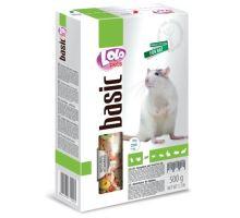 LOLO BASIC kompletní krmivo pro potkany 500 g krabička