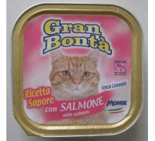 Gran Bonta paštika s lososem pro kočky 100g