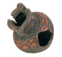 Dekorace románský džbán 13,5x12,5cm