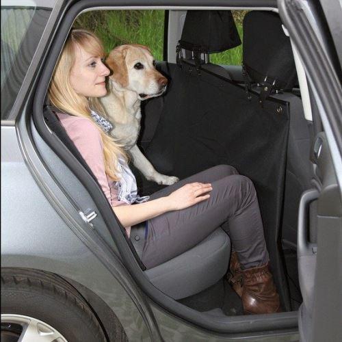 Ochranný autopotah zadních sedadel 1,45x1,60m Trixie zip