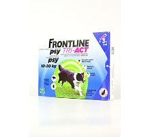 Frontline Tri-Act pro psy Spot-on M (10-20 kg) 3 pip
