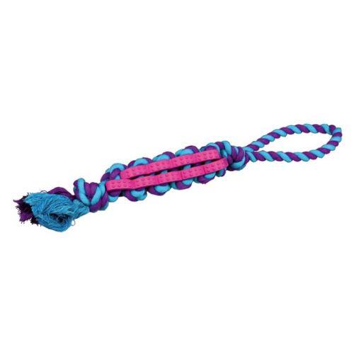 DENTAFun propletenec bavlna/guma na laně 4 cm / 37 cm