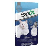 SANICAT BIANCA hrudkující bílý bentonit 5 l /4 kg