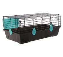 Klec SMALL ANIMAL Michal černá s modrou výbavou 1ks