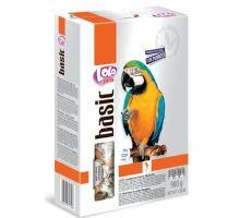 LOLO BASIC kompletní krmivo pro velké papoušky 900g krabička