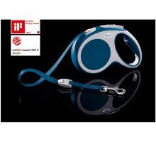 Vodítko FLEXI VARIO Pásek M 5m/25kg Modrá