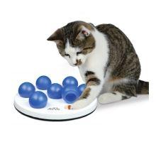 Cat Aktivity SOLITAIRE - zábavná deska se 7 míčky 20 cm