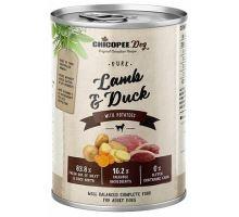 Chicopee adult čisté jehněčí, kachna, brambory pro psy 400g
