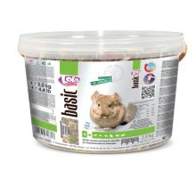 LOLO BASIC kompletní krmivo pro činčily 3 L, 2 kg kyblík