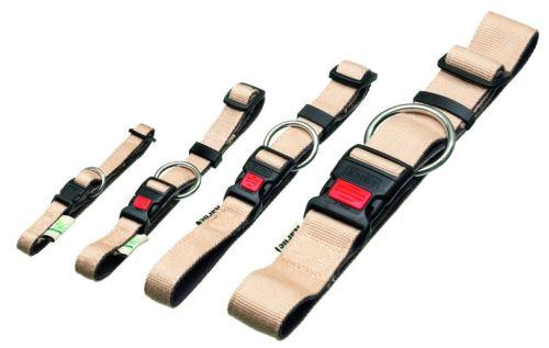 Obojek Bamboo Balance Béžový 30-45cm / 15mm KARLIE VÝPRODEJ