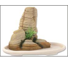 Dekorace akvarijní Bonsai + skála 14,1 x 8 x 9,8 cm 1ks