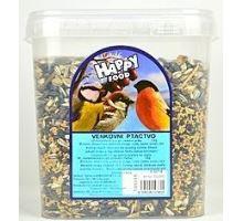 Krmivo ptactvo venk. směs Happy food 5,5l 3kg kyblík