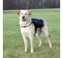 Ruksak na záda pro psa L-XL 31 x 17 cm černý
