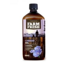 Farm Fresh Linseed oil Lněný olej 200ml