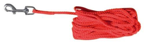 Prodlužovací vodítko šňůra červená 10m