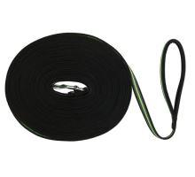 FUSION stopovací vodítko pásek 15 m / 17 mm - černo-zelený