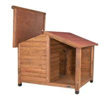 Natura bouda dřevěná chata s terasou 130x100x105 cm