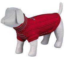 Pletený svetr s rolákem PIAVE červený