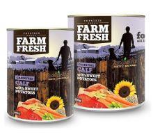 Topstein Farm Fresh Calf & Sweet Potato 400g