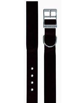 Obojek nylon DAYTONA C černý 45cmx25mm