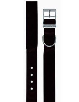 Obojek nylon DAYTONA C černý 63cmx40mm