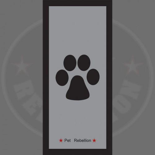 PET REBELLION- Běhoun, šedý, 45 x 100cm  VÝPRODEJ