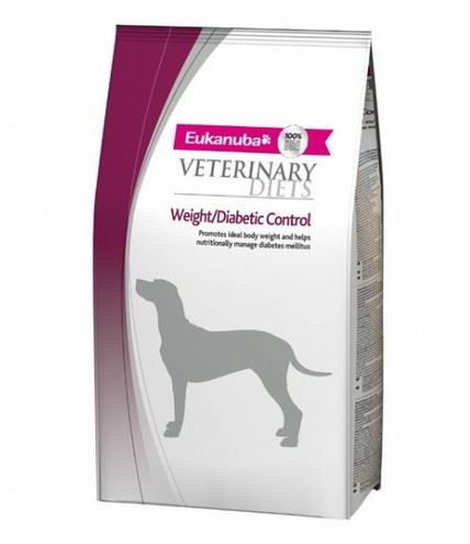 Eukanuba VD Dog Glucose/Weight/Diabetic control 2 balení 12kg