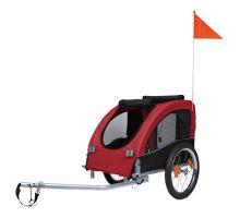 Vozík pro psa za jízdní kolo M  45x48x74cm do 30 kg
