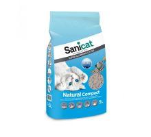 SANICAT NATURAL COMPACT 5 L hrudkující bílý bentonit