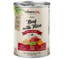 Chicopee adult čisté hovězí s rýží konzerva pro psy 400g
