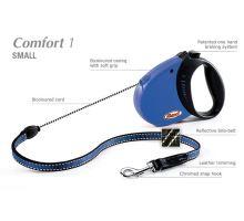 Vodítko FLEXI Comfort 1 5m/12kg Lanko Modrá VÝPRODEJ