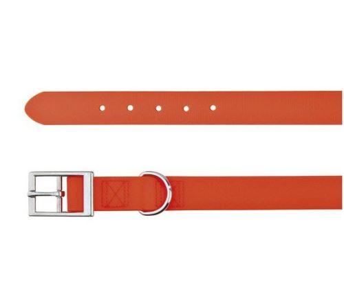 Easy Life obojek PVC M 35-43 cm / 20 mm neon oranžový
