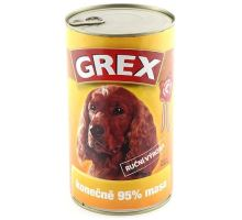 GREX konz. pes drůbeží 1280g