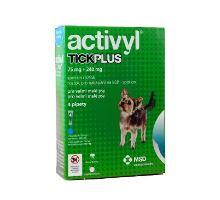 Activyl Tick plus Toy Dog 75+240mg spot-on 4x0,5ml