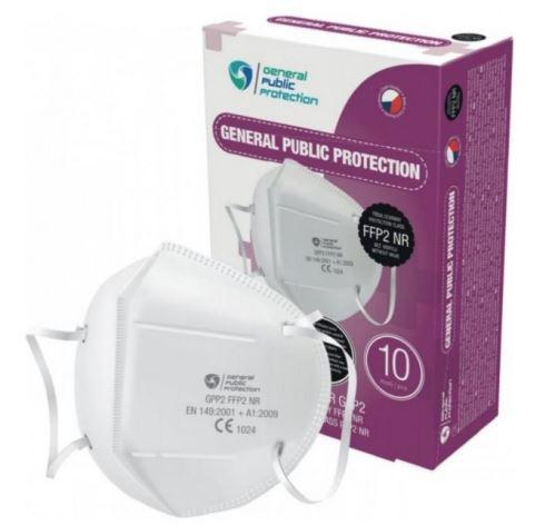 General Public Protection respirátor FFP2 10 ks