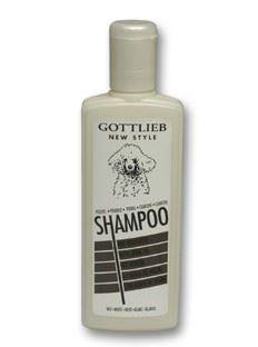 Gottlieb šampón s makadamovým olejem bílý pudl 300ml