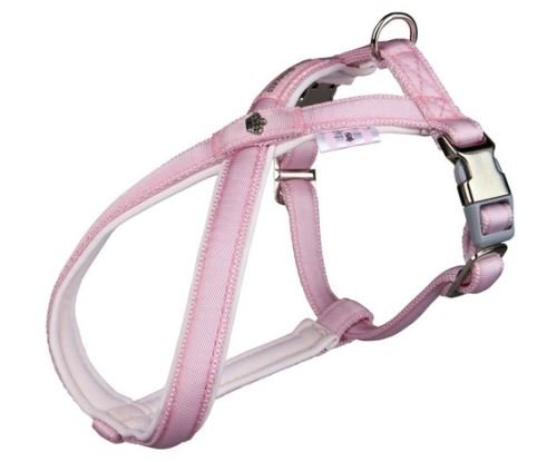 Postroj Softline DOG PRINCESS S - M 40-66 cm / 20 mm růžový