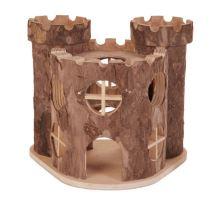 Dřevěný hrad MATTI pro hlodavce 17x15x12cm TRIXIE