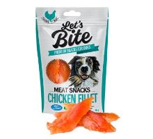 Brit Let's Bite Meat Snacks Chicken Fillet 80g