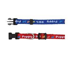 Puppy souprava obojek 16-23cm/8mm + vodítko 2,00m/8mm červená